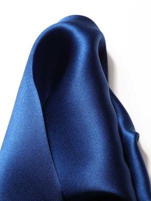 Silk Navy Pochette