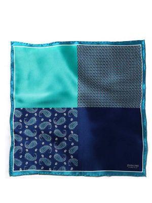 Silk Turquoise Pochette