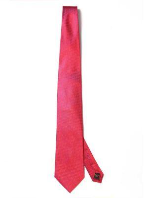 Campania Structure Medium Red Silk Ties