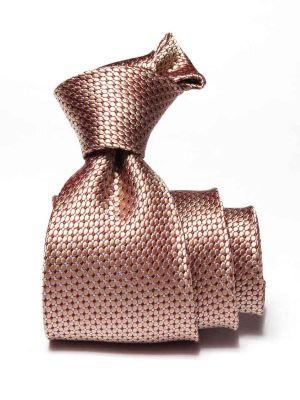 Campania Structure Medium Beige Silk Ties