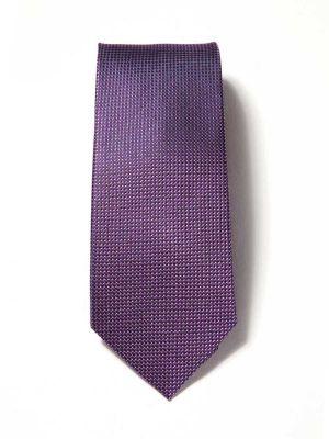 Campania Structure Dark Purple Silk Ties