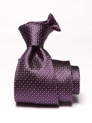 Campania Minimals Dark Purple Silk Ties