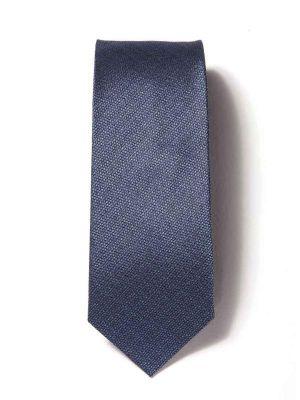 Campania Minimals Dark Blue Silk Ties