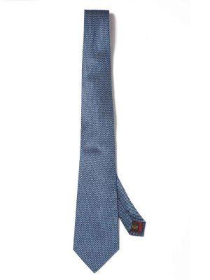 Campania Structure Dark Blue Silk Ties