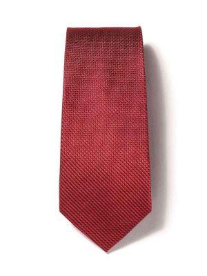 Campania Structure Dark Red Silk Ties