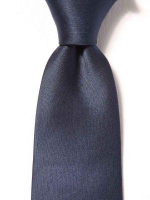 Creme DE LA creme Plain Slim Silk Ties