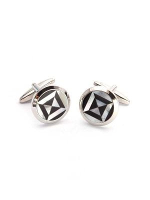 Black & White Mother of Pearl Cufflinks