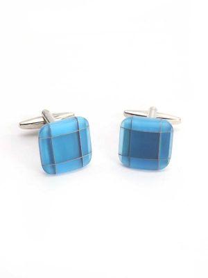 Medium Blue Stone Cufflinks