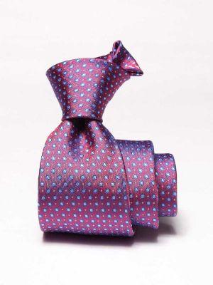 Florentine Minimals Medium Maroon Silk Ties