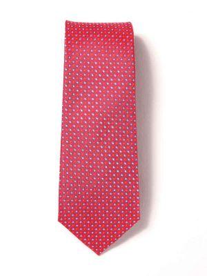 Florentine Slim Minimals Dark Red Silk Ties