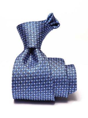 Florentine Minimals Medium Blue Silk Ties