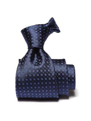 Florentine Slim Minimals Navy Silk Ties