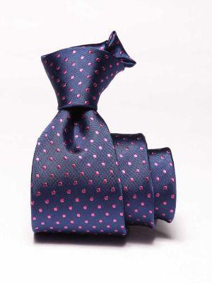 Florentine Slim Minimals Dark Blue Silk Ties