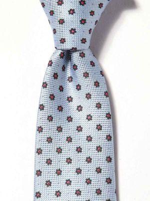 Florentine Slim Minimals Medium Blue Silk Ties