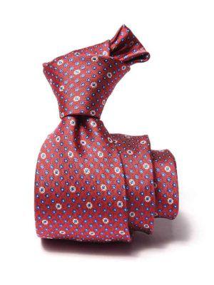 Kingcrest Slim Minimals Light Maroon Polyester Ties