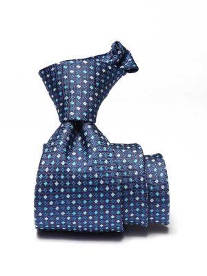 Kingcrest Slim Minimals Dark Blue Polyester Ties