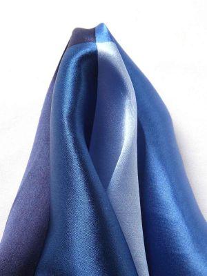 Silk Pochette Blue