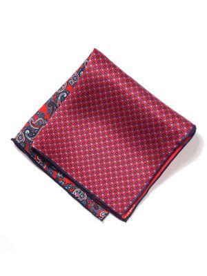 Silk Pochette Maroon