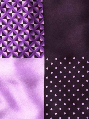 Silk Pochette Purple