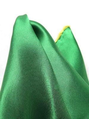 Silk Pochette Green