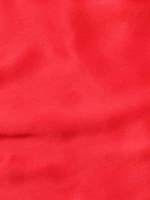 Silk Pochette Red