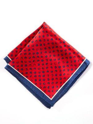 Silk Dark Red Pochette