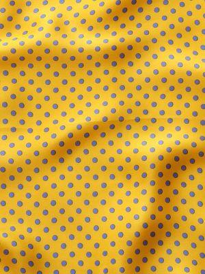 Printed Polka Dot Pochette