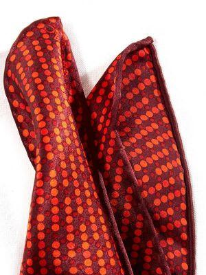 Silk Dark Maroon Pochette