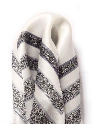 Silk Pochette Black & White