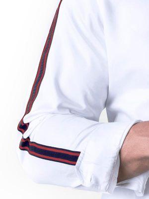 Alec White Slim Fit Solid Shirt