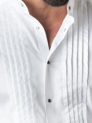 Craig White Slim Fit Tuxedo Shirt