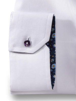 Riccardo White Slim Fit Solid Shirt