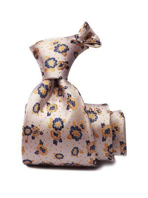 Bartoli All Over Dark Gold Silk Ties