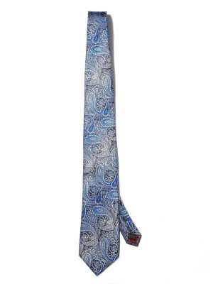Bartoli Paisleys Medium Blue Silk Ties