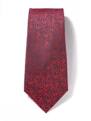Bartoli Paisleys Dark Blue Silk Tie