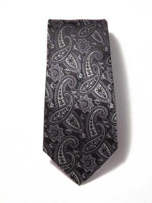 Bartoli Paisleys Dark Grey Silk Ties