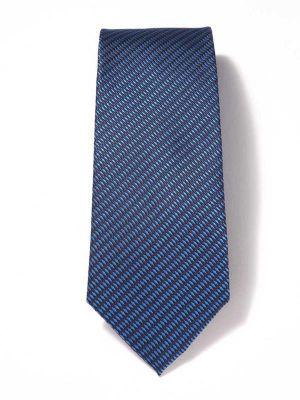 Bartoli Structure Dark Blue Silk Ties