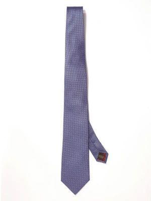 Campania Structure Purple Meduim Silk Tie