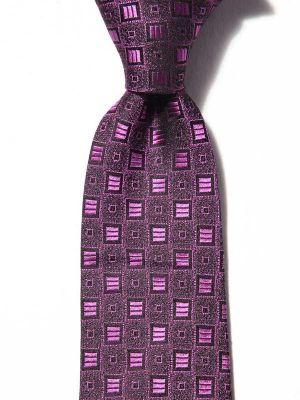 Florentine Minimals Dark Pink Silk Ties