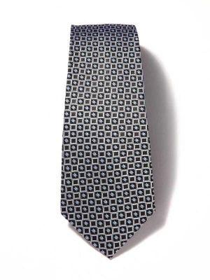 Florentine Minimals Medium Grey Silk Ties