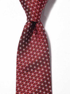 Florentine Minimals Dark Maroon Silk Ties