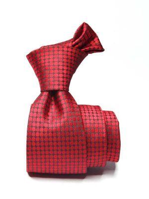 Kingcross Structure Medium Maroon Polyester Tie