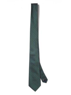 Kingcross Structure Dark Green Polyester Ties