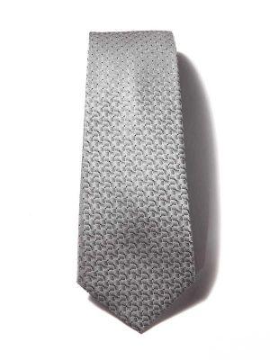 Kingcross Structure Medium Grey Polyester Ties