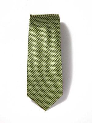 Kingcross Structure Medium Green Polyester Ties