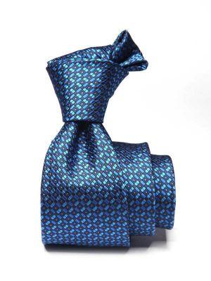 Kingcross Structure Dark Blue Polyester Ties