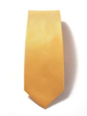 Kingcross Structure Dark Orange Polyester Tie