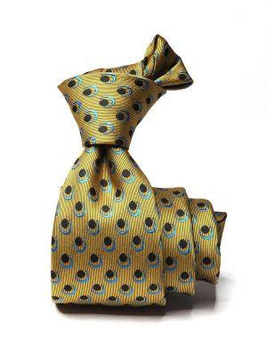 Kingscrest Minimals Dark Gold Polyester Ties
