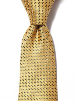 Kingscrest Minimals Medium Gold Polyester Ties