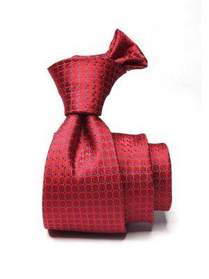 Kingscrest Minimals Medium Maroon Polyester Ties